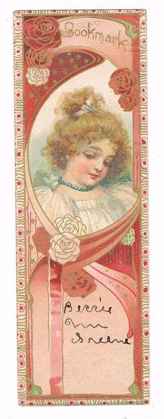 bookmark from Emerson Piano Co.