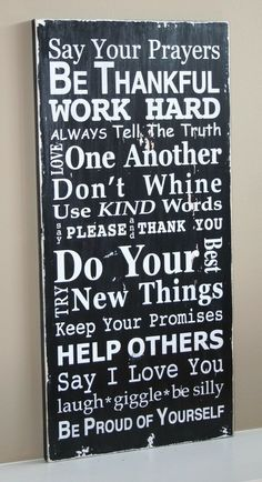 Pin by zainab mohamed on quotes pinterest family rules sign version iii typography by barnowlprimitivesgood definition of my house rules solutioingenieria Gallery
