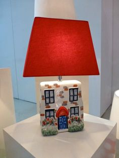 Adorable country cottage lamp new in for spring 2014 at Cath Kidston