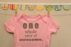 one whole year of awesome