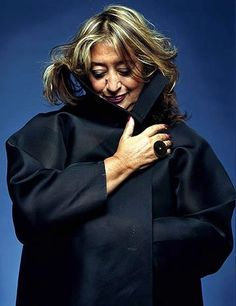 Zaha Hadid - constantly the only female STARchitect to make the lists