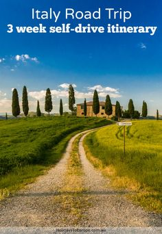 Plan the perfect Italian road trip with this 3 week self-drive itinerary that visits some of Italy's most popular destinations.