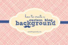 How to Create a Custom Blog Background using #picmonkey