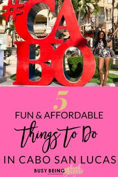 Looking for fun and affordable things to do in Cabo San Lucas, Mexico? Check out this list of things to do that won't break the bank.