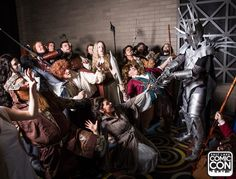 Lord of the Rings themed cosplay meetup at Salt Lake Comic Con 2015