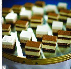 Mini tiramisu. Mini desserts... Genius!