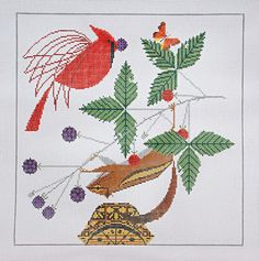 It's not your Grandmother's Needlepoint: Charley Harper