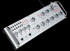 Rare Waves The Grendel RA-9 Grenadier ~ semi modular CV-Gate synthesizer with analog sequencer and filterbank in desktop enclosure