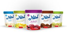 Nitel ice cream by sina sankar, via Behance