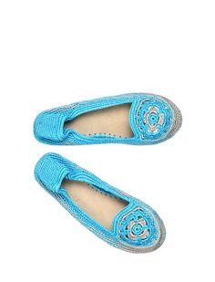 ESPADRILLE STYLE #crochet #shoes