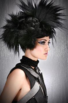 http://www.esteticamagazine.com Hair:  Chrystofer Benson, MATRIX Artistic Director  Photo:  Keith Bryce  Make-up: Janelle Coreys  Styling: Keith Bryce
