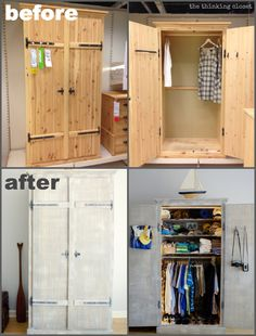 Fjell Wardrobe IKEA Hack: Before & After | The Thinking Closet