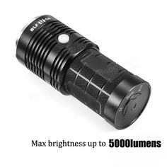 New BLF XP-L Professional Multiple Operation Procedure Super Bright LED Sporting Goods. Fashion is a popular style Bright Led Flashlight, Holiday Lights, Strip Lighting, Bulb, Ebay, Popular, Tools, Clothing