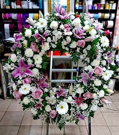 Funeral Flower Arrangements, Modern Flower Arrangements, Funeral Flowers, Wedding Flowers, Casket Flowers, Funeral Sprays, Cemetery Decorations, Outdoor Flowers, Flower Designs