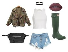 army by lexy24 on Polyvore featuring River Island, Hunter, Balenciaga and Lime Crime
