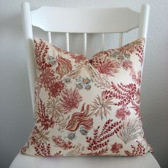 Love this seascape pillow cover from chic decor pillows on Etsy!!!!