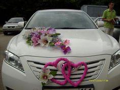 FloralMagic_Mini posies with r Just Married Car, Wedding Car Decorations, Bridal Car, Wedding Favours, Wedding Designs, Floral Arrangements, Our Wedding, Wedding Planning, Google Google