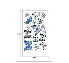 10 Sheets Waterproof Temporary Tattoos Sticker Removable ... https://www.amazon.com/dp/B01ID8RLR0/ref=cm_sw_r_pi_dp_aq0HxbD97XDGY