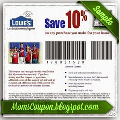 printable Lowes coupons 20% February 2015