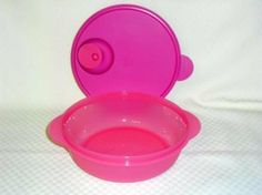 Tupperware Crystalwave 4.25 Cup Microwave Bowl Vented. Punch Pink by Tupperware. $15.95. Lifetime Warranty. Microwave and Dishwasher Safe. Vented Cover. Punch Pink. 4.25 Cup Capacity. Tupperware Crystalwave 4.25 Cup Microwave Bowl Vented.