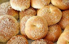 Ανεβατά κουλουράκια με φυσικό προζύμι ή με μαγιά - cretangastronomy.gr Bagel, Bread, Food, Google, Brot, Essen, Baking, Meals, Breads