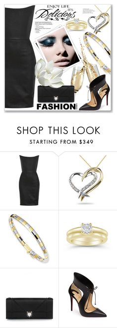 """Formal Outfit :: applesofgold.com"" by jecakns ❤ liked on Polyvore featuring Gareth Pugh, Chanel, Christian Dior, GALA, Christian Louboutin and WALL"