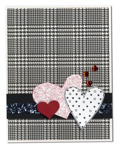valentin card, wedding cards, card idea, heart, everyday card, valentin idea, valentine cards, glitter ribbon, cardsvalentin