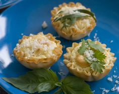 Goat Cheese Phyllo Cup Bites