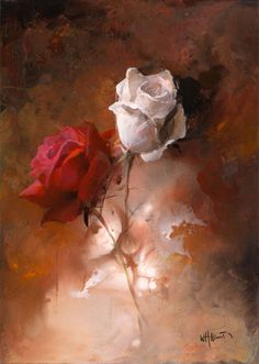 /willem-haenraets-artist/65364-painted-canvas-with-white-and-red-rose-version-1/|Order code: OCUK65364 - Painted canvas with white and red rose version 1