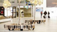 Passenger Terminal   Green Furniture Concept