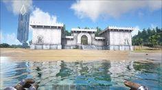 ARK Survival Evolved Base Showcase: Epic Castle!   Music Jinni