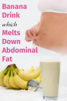 Banana Drink Melts Down Abdominal Fat