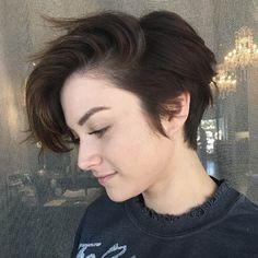 Side-swept bangs by Shannon Rha