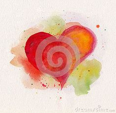 watercolor hearts - Yahoo Image Search Results
