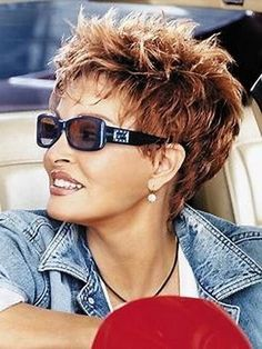 Image result for Short Spikey Hairstyles for Women Over 50 Gray Hair