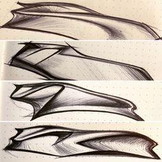 Form Design, Shape Design, Speed Form, Colani, Car Design Sketch, Hand Sketch, Conceptual Design, Concept Architecture, Automotive Design