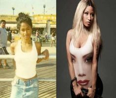 Celeb Transformations: There's No Way Nicki Minaj Looked Like That As A Teen!