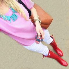 Fashion & Lifestyle Blogger @vandifair in the Celine Blouse