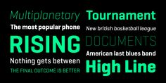 Geogrotesque - underrated font - use tracked - lovely in all weights