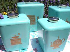 Aqua canister set