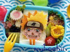 Naruto sandwich bento