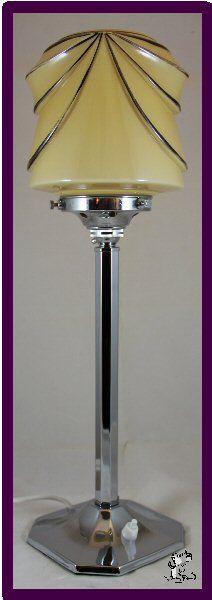 1930s Art Deco lamp                                                       …