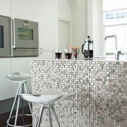 Classical Flagstones Lin Mosaic Kitchen Wall Tile