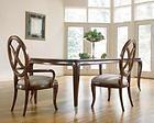 Thomasville Furniture Bogart Mahogany Leg Dining Table