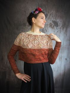 Fabulous, striking use of colourwork inspiration jumpers Enchanted forest jumper pattern by Knits with chocolat Jumper Knitting Pattern, Jumper Patterns, Easy Knitting Patterns, Knitting Stitches, Knitting Socks, Knitting Projects, Knitted Hats, Grunge Look, Grunge Style