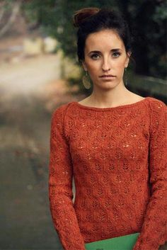 Autumn's End: from Botanical Knits, a knitting pattern by Alana Dakos of Never Not Knitting