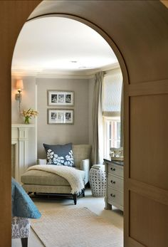 Master Bedroom Entryway borrowed light | master bedrooms, photos and lights