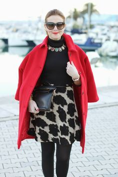 red Kiomi coat, elegant outfit, zara clutch, cappotto rosso, Fashion and Cookies, fashion blogger