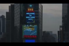 Good morning from Times Square. February 1st, 2012.
