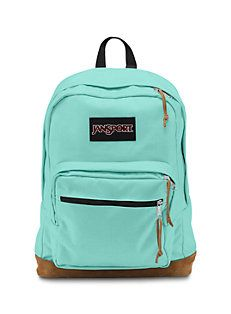 Mint & Chocolate #JanSport #Backpack.